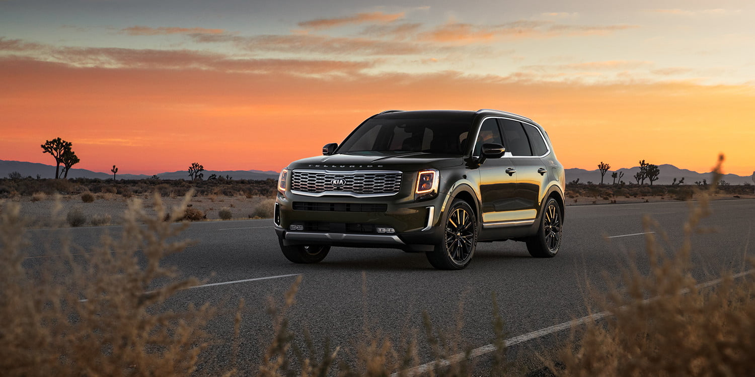 Suv With Captain Chairs 2020 Kia Telluride Suv Is A Gentle Giant Of A Family Car Digital