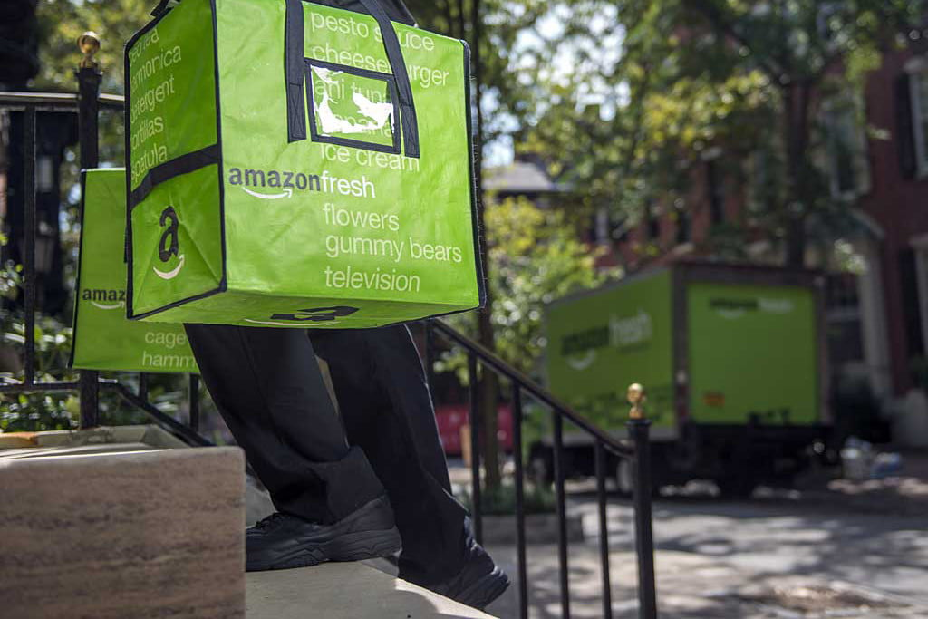 Amazon Fresh Address Bellevue