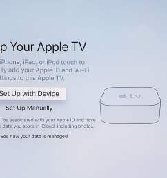 how to set up an apple tv and apple tv 4k digital trends apple tv wiring diagram [ 1500 x 844 Pixel ]