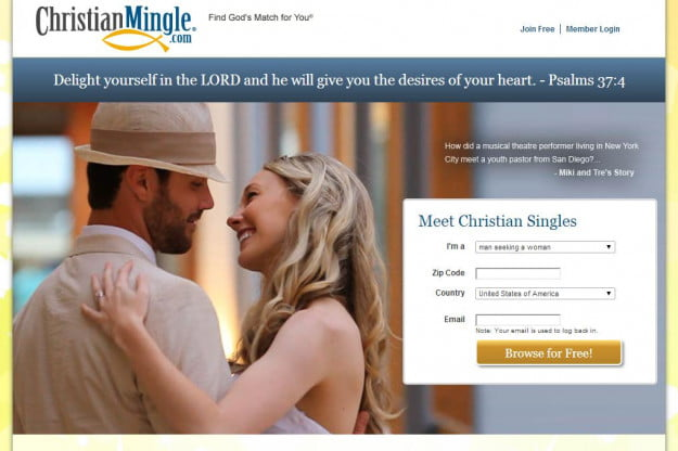 Christian mingle member login