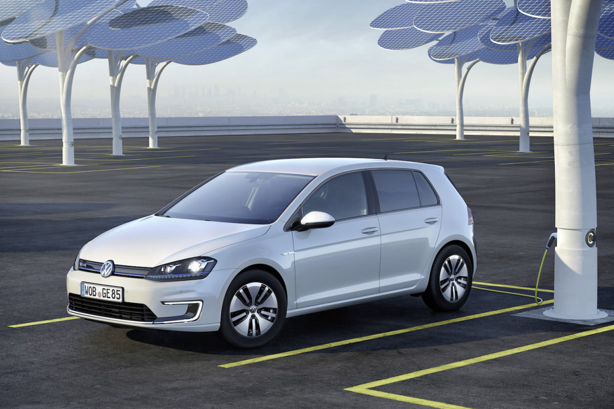 vw electric  mile minute charge volkswagen e golf