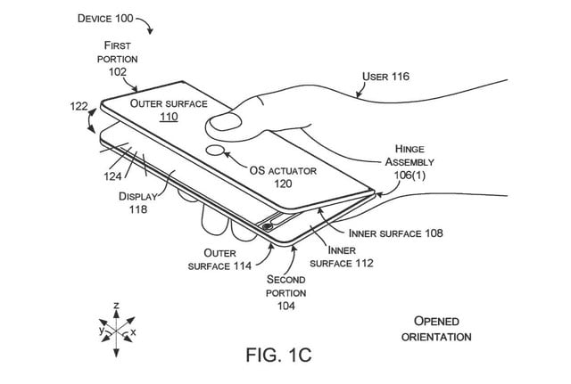 Microsoft Patent Hints at Surface Foldable With Multi