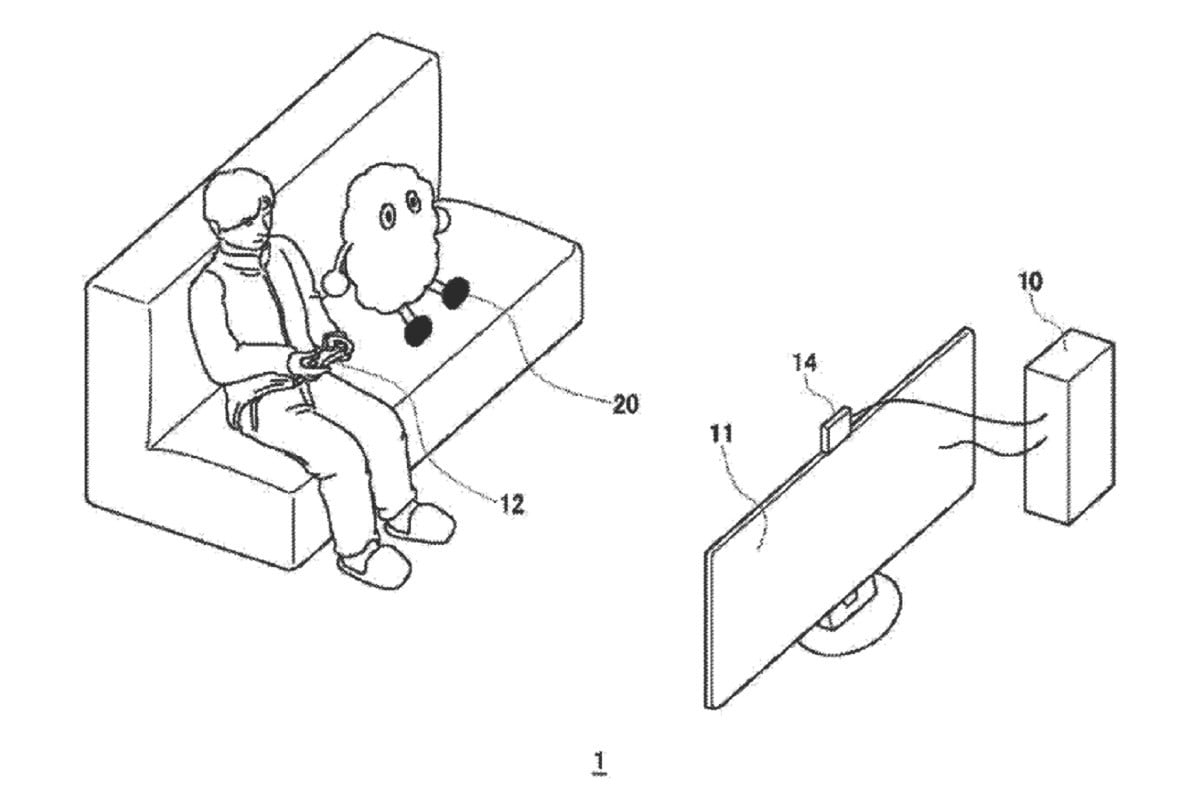 Sony Files Patent for Autonomous Robot Companion for