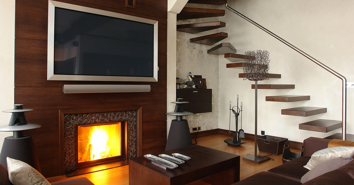 Why You Shouldn T Mount Your Tv Above Your Fireplace Digital Trends