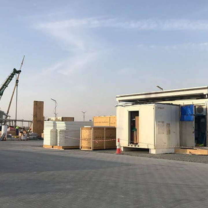 virginia tech futurehaus solar decathlon dubai underconstruction