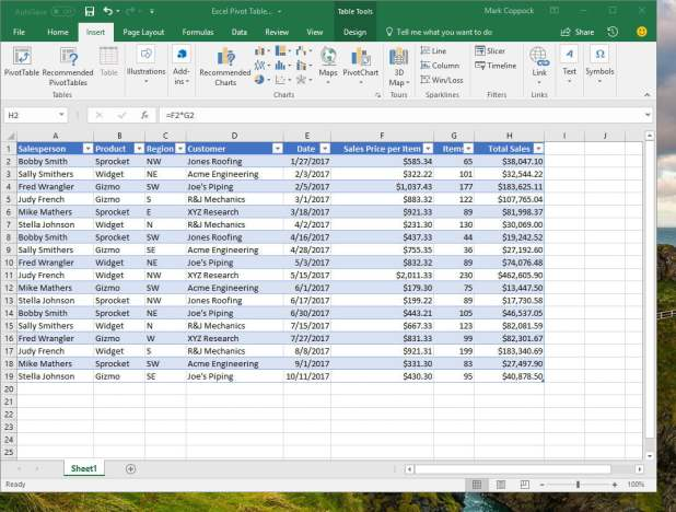 how to create an index in excel 2013