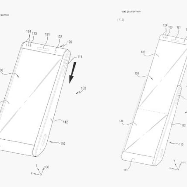 rollable samsung smartphone patent 2019 galaxy roll patents 2