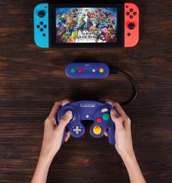 8bitdo wireless adapter lets you use gamecube controller with switch digital trends [ 1280 x 900 Pixel ]