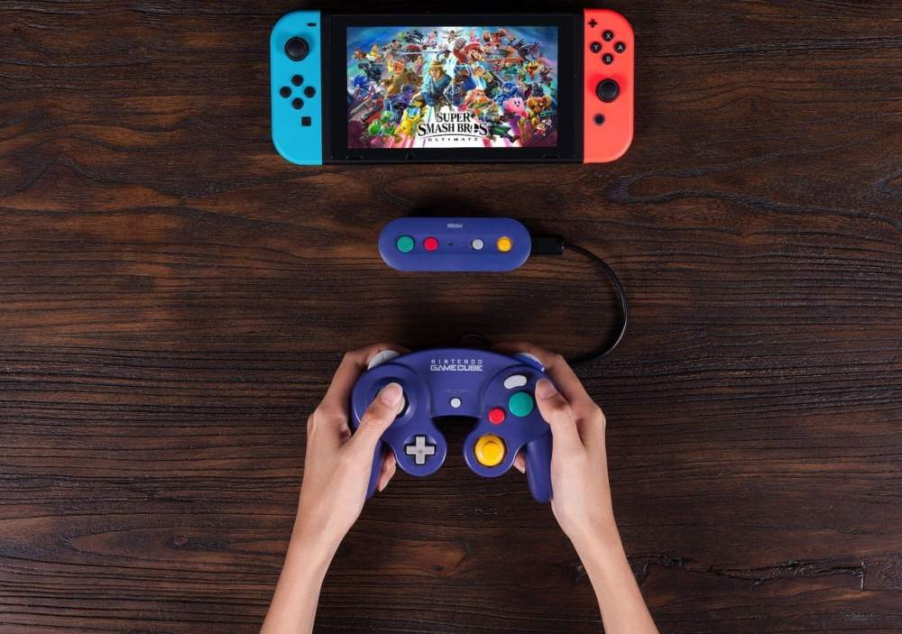 medium resolution of 8bitdo wireless adapter lets you use gamecube controller with switch digital trends
