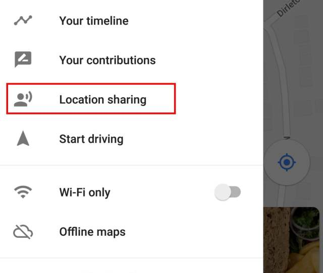 Share Real Time Location In Google Maps