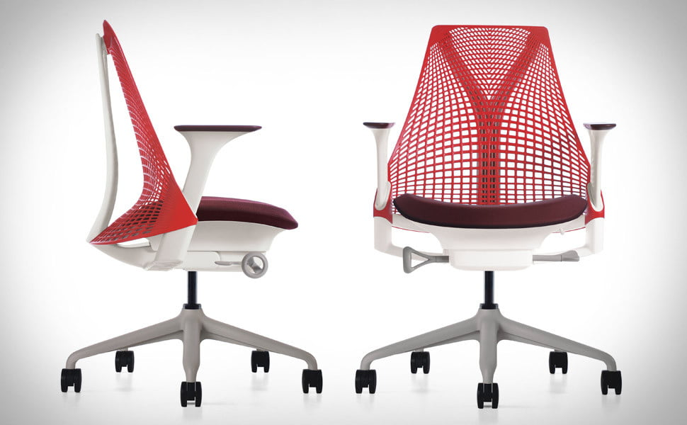 xl desk chair dining room covers diy herman miller sayl inspired by the golden gate bridge