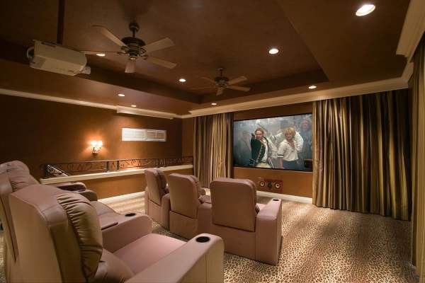 Home Theater Room Projectors