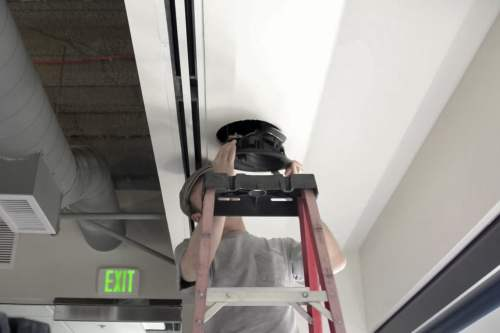 small resolution of inserting into ceiling install dolby atmos ceiling speakers