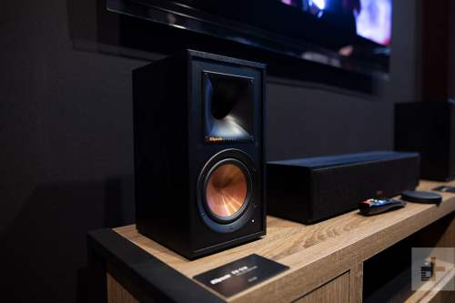 small resolution of klipsch s new reference home theater system does hi fi surround without wires