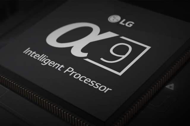 LG's new a9 intelligent processor