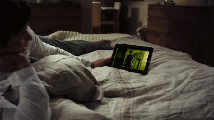Image result for netflix in bed