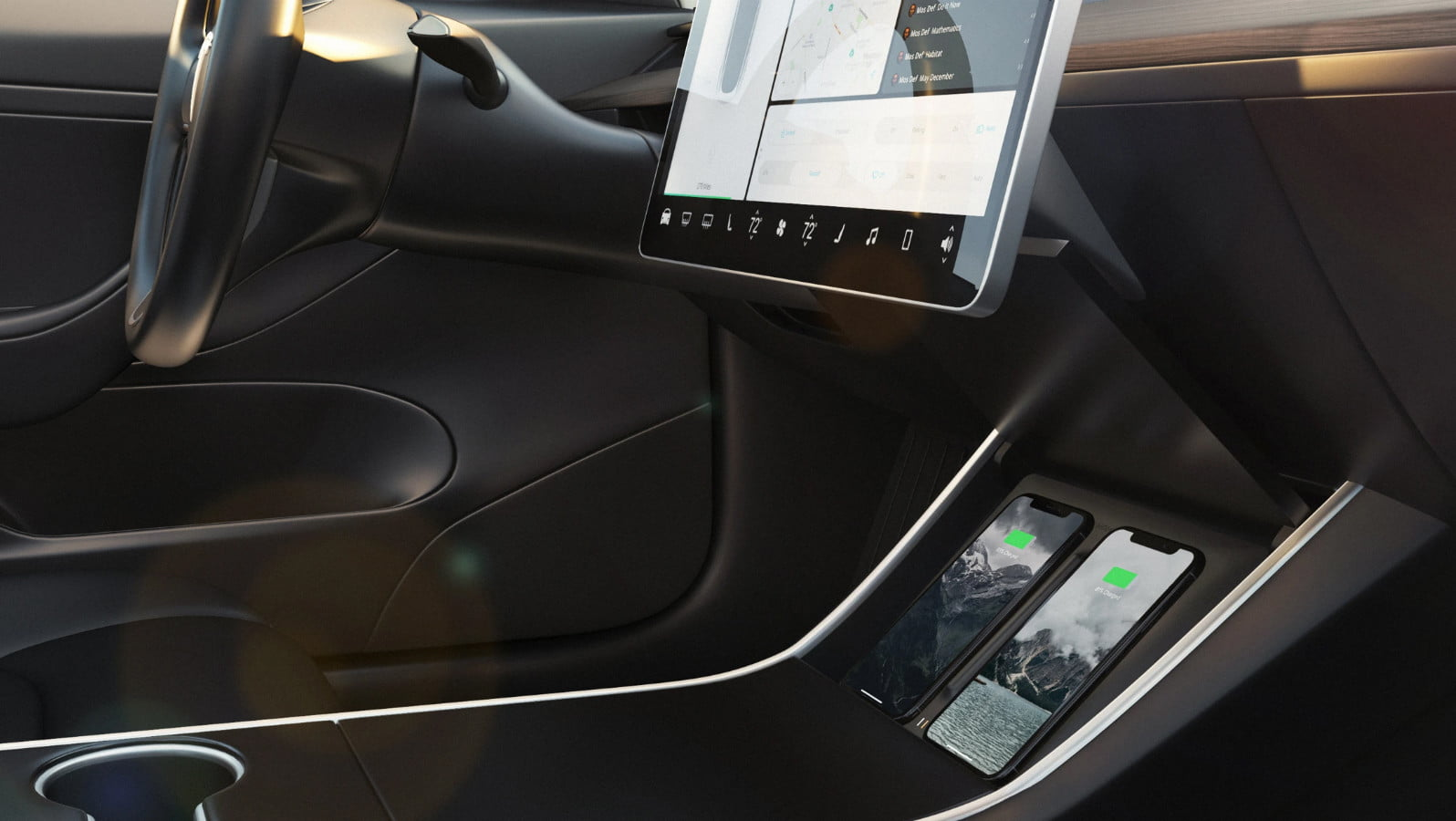 hight resolution of nomad wireless charger for tesla model 3 charges twice as fast digital trends