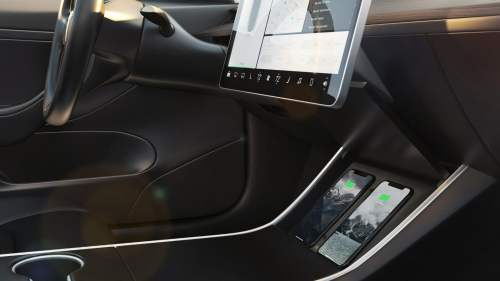 small resolution of nomad wireless charger for tesla model 3 charges twice as fast digital trends