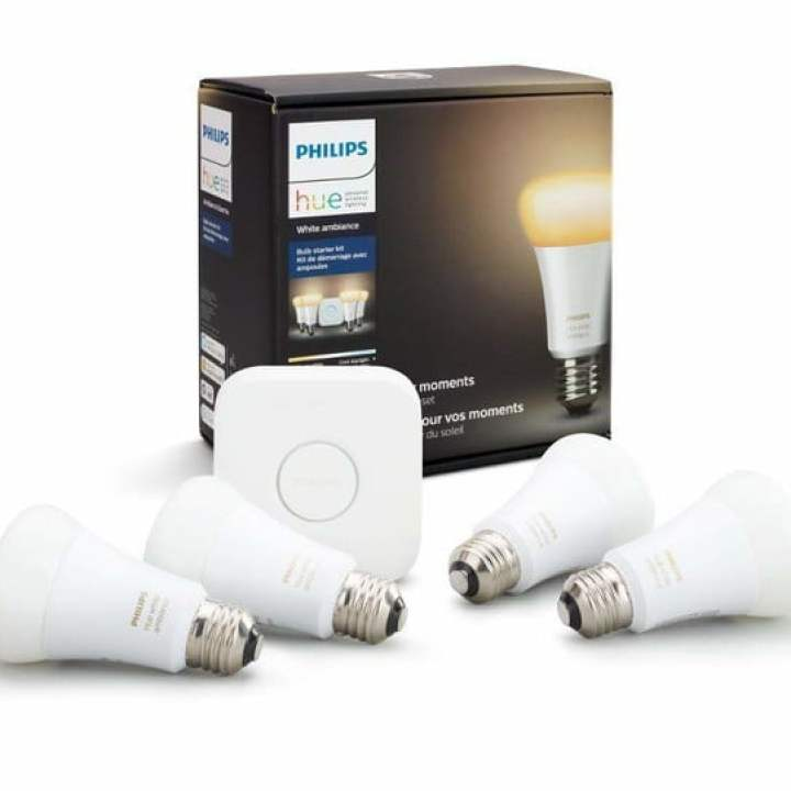 philips hue smart lighting black Friday amazon offre un ambiente bianco