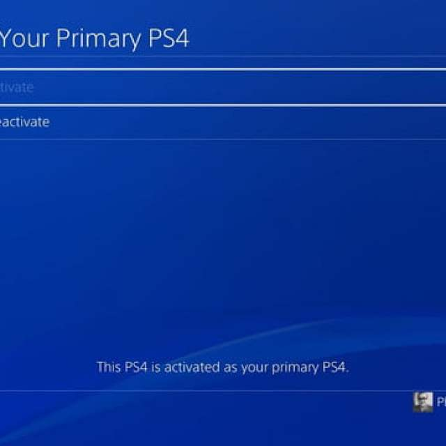 how to factory reset a ps4 playstation 4 deactivate