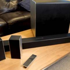 Living Room Theater Drink Menu Maroon Furniture Vizio 5 1 4 Dolby Atmos Soundbar Review Epic On The Cheap