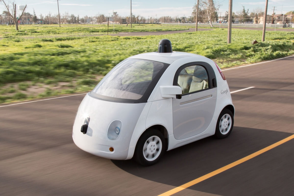 google honk self driving car