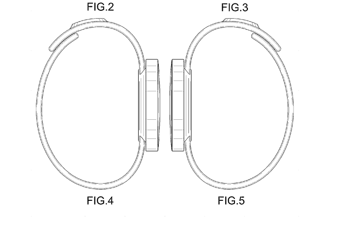 Samsung Patents Smartwatch Designs with Round Faces