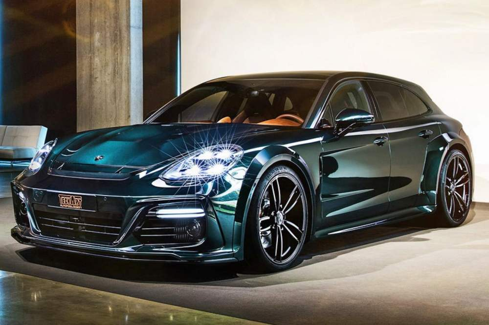 medium resolution of porsche panamera turbo by techart gets power visual upgrades digital trends