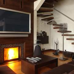 Living Room Design Ideas Tv Over Fireplace Pictures Indian Homes Why You Shouldn T Mount Your Above Digital Trends Please Dont The 3 1500x946
