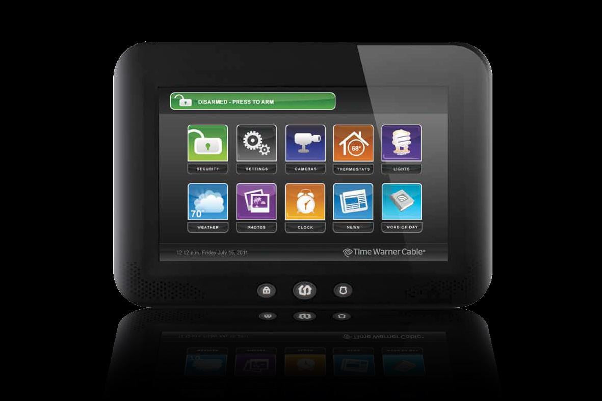 With IntelligentHome and Home Control Time Warner and