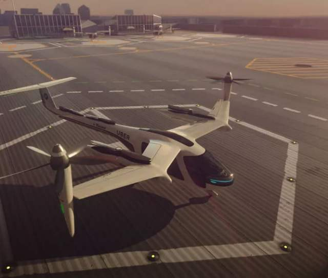 Uber Wants Flying Taxis To Soar Above Los Angeles By 2020 With Help From Nasa