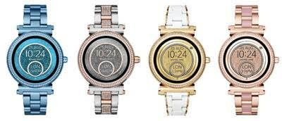 Michael Kors Access Sofie And Access Grayson Smartwatches Digital Trends