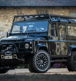 the duke is a custom built land rover defender looking a fight the manual [ 1200 x 676 Pixel ]