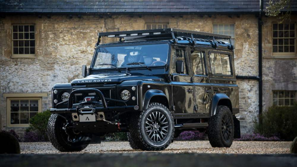 medium resolution of the duke is a custom built land rover defender looking a fight the manual