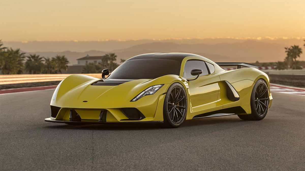 6 fastest cars in