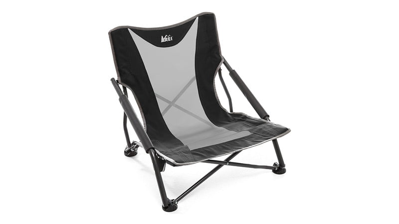 rei folding beach chair used power chairs 11 best camping for relaxing in the great outdoors manual camp stowaway low 45