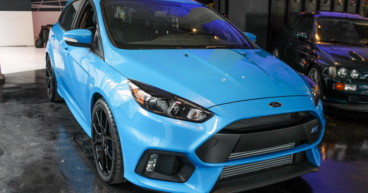 2016 Ford Focus RS First Look Spec Pictures Performance