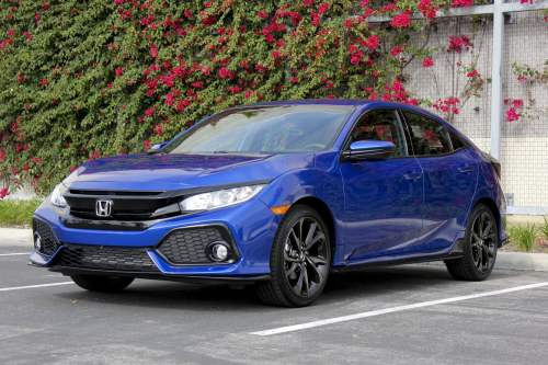 small resolution of 2017 honda civic hatchback sport review
