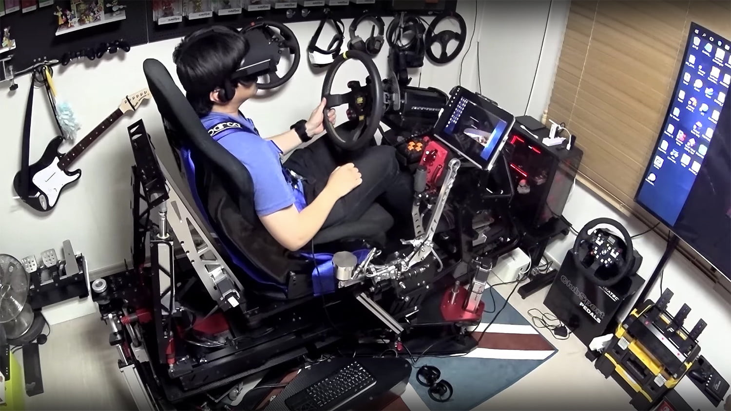 hydraulic racing simulator chair ergonomic manufacturers check out this amazing 25 000 build digital trends