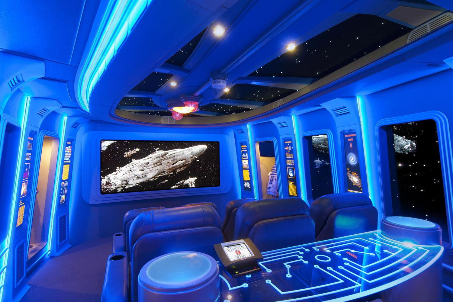Pics of the best Star Warsinspired home theaters  Digital Trends
