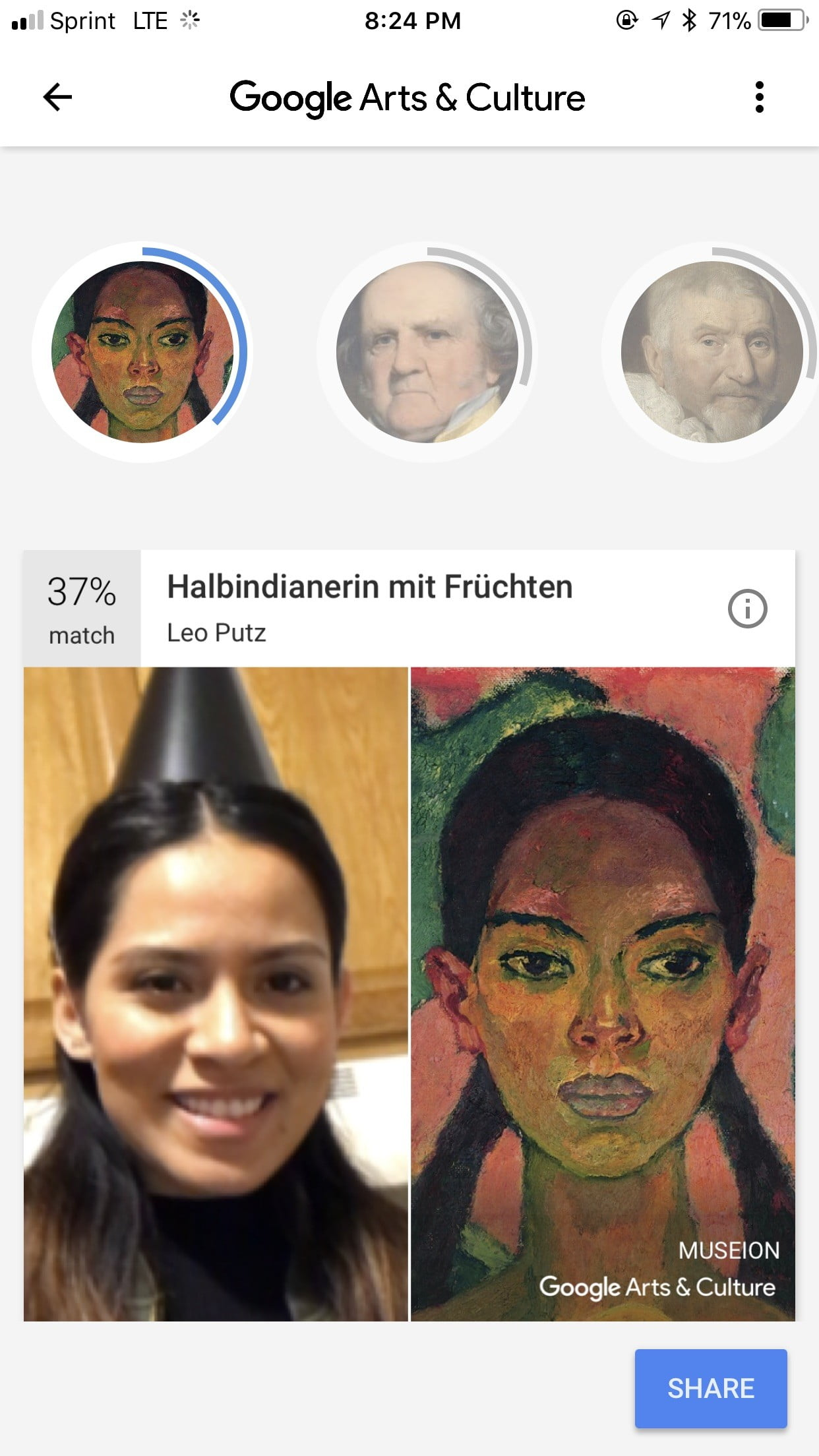 the google arts and