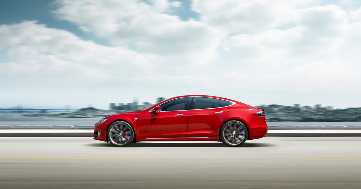 Watch this Tesla Model S set a lap record at Laguna Seca