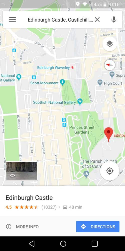 small resolution of most of us are familiar with the google maps navigation feature that offers voice guided turn by turn directions but did you know that there s a nifty