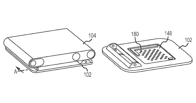 Apple files patent for iPod Shuffle-like device with built