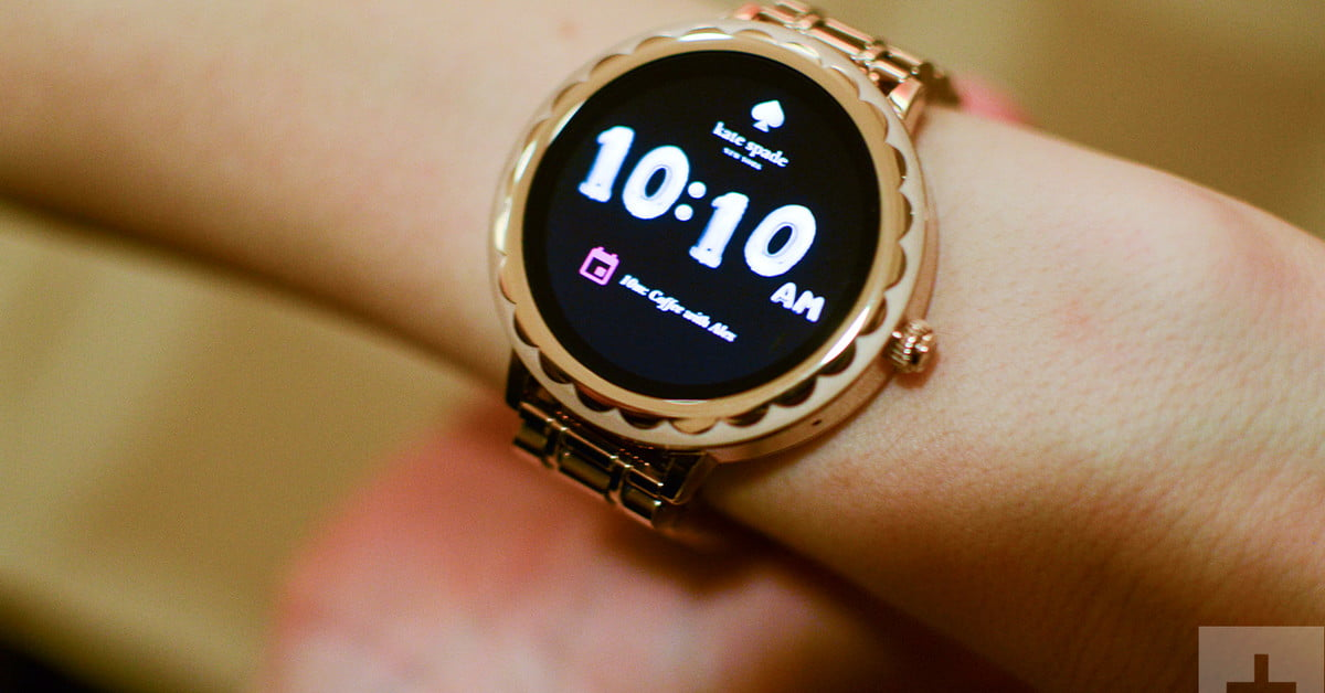 Kate Spade Womens Smartwatch Shuns Shrink it and Pink it