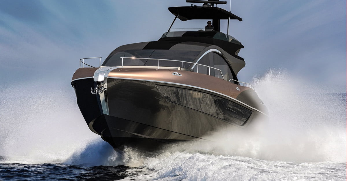 Lexus LY 650 65 Foot Luxury Yacht Hits The Water In 2019