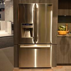 Lg Kitchen Suite Cabinet Price Signature Is A Luxury Smart Appliance Brand From Digital Trends 3 Door French Counter Depth
