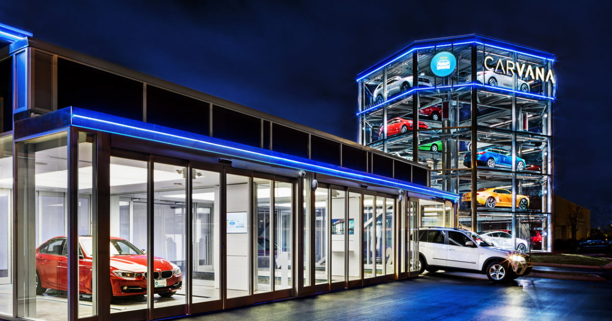 Carvana Launches First Automated Car Vending Machine