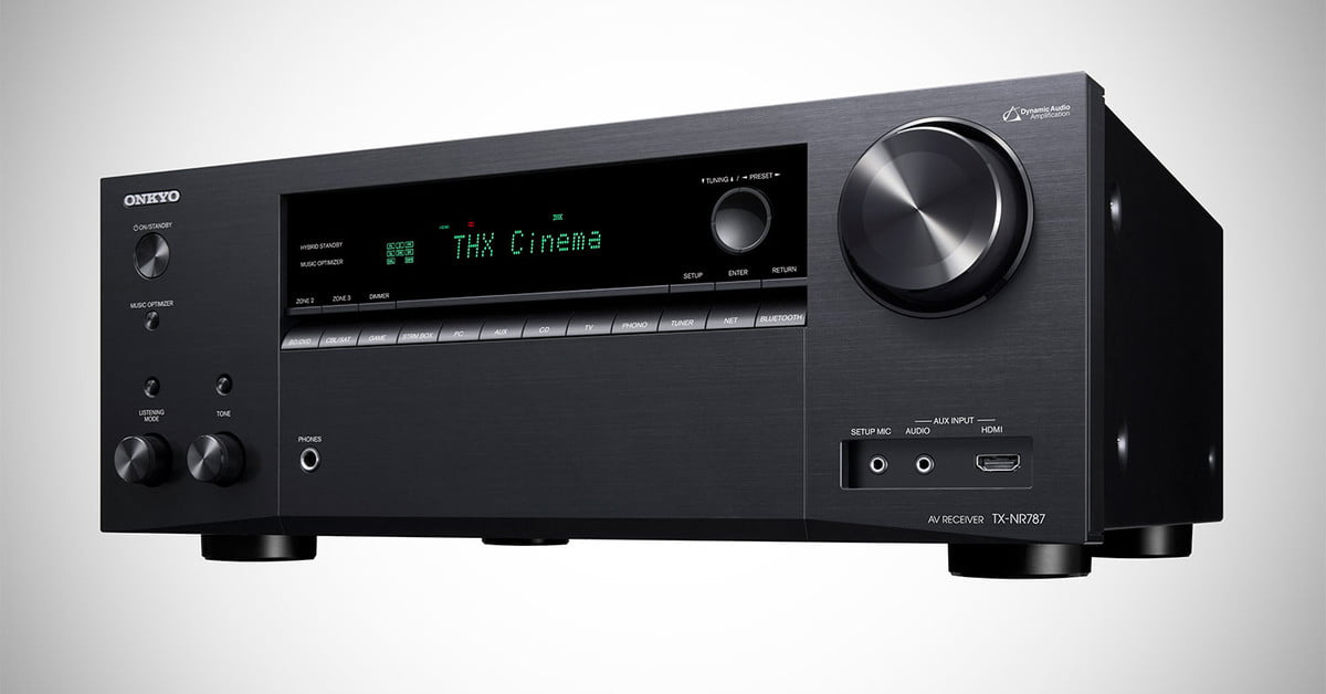 The Onkyo TX-NR787 Receiver Has a Secret Weapon and it isn