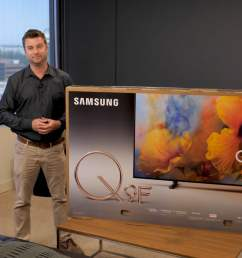 samsung q9 setup and unboxing guide helps get your tv up and running [ 1920 x 1080 Pixel ]